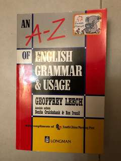 English  grammar book usage 英文文法