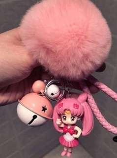 SailorMoon Pink Figure Keychain