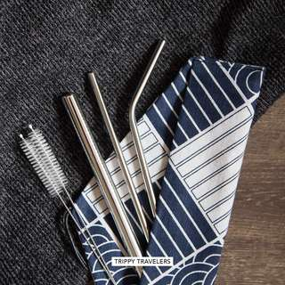 🚚 Stainless Steel Straw Set / Metal Straw Set
