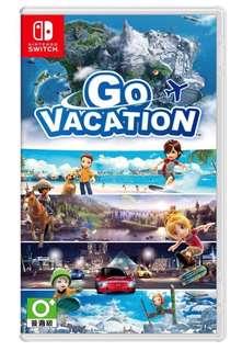 全新 Switch Go Vacation 日英版