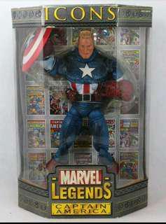 Icons captain america