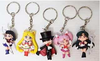 SailorMoon character keychain