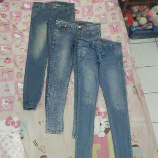 Celana jeans (jogger/skinny)
