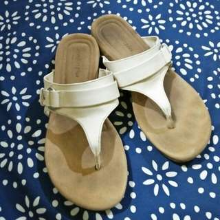 Payless white sandals