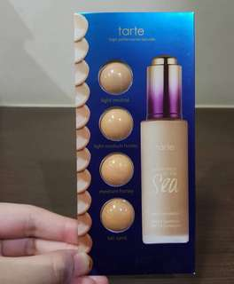 Sample! Tarte Water Foundation