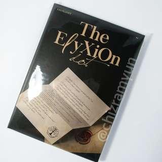 Kpop EXO Official The ElyXiOn dot Concert Goods Postcard