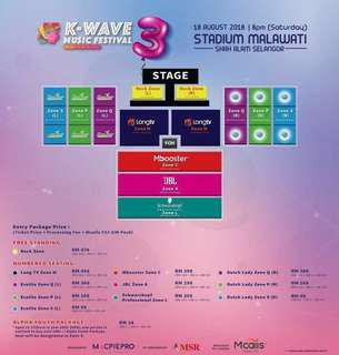 K wave music festival 3 (ZONE Q-R)