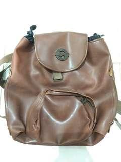 mini backpack kulit brand super exsport sack