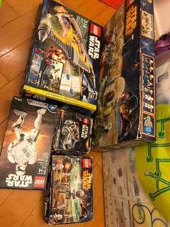 Lego Starwars 75052 7877 75030 75036 75114
