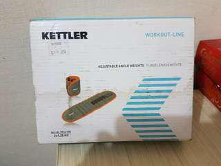 Kettler Adjustable Ankle Weight