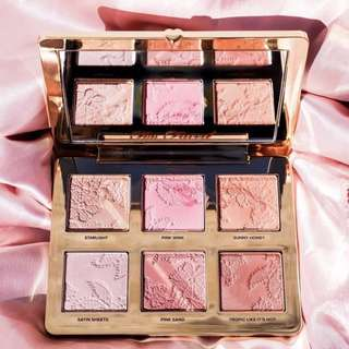TOO FACED natural face palette bronzer blush