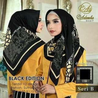 Adeerha Scraf Black Edition