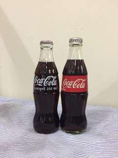 Coca Cola Thailand & Malaysia Glass Bottle