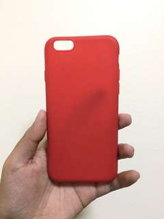 Red Silicone Case for Iphone 6/6s