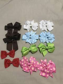 6 pairs of Assorted Style of Clip