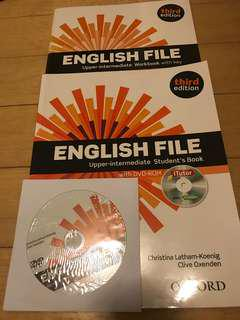 Upper-intermediate students book, Oxford, with workbook and CD