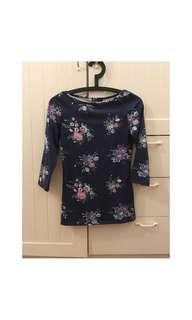 Floral Print Women's Blouse/Top