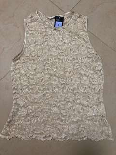 Flash sale ~ Marks and Spenser lace vest top