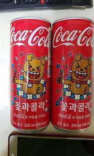 韓國特别版可樂