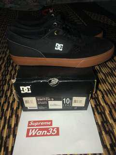 DC Shoes Switch S Suede 100% Authentic