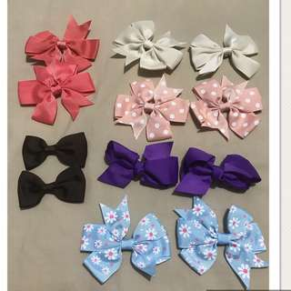 6 Pairs assorted Clip