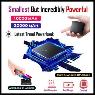 🚚 ★Weekend Promo★Small PowerBank★The Best★Wireless Charging