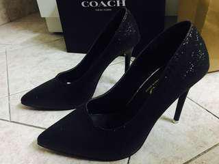 NEW-PosINCLUDE-black heels 8cm