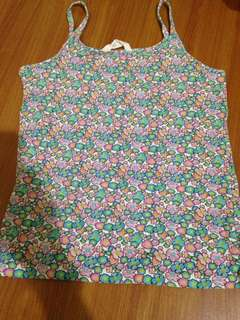 Forever 21 floral flower printed sleeveless top