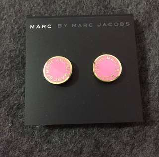 Marc By Marc Jacobs Sample Earrings Pink/Gold 粉色撞金色耳環