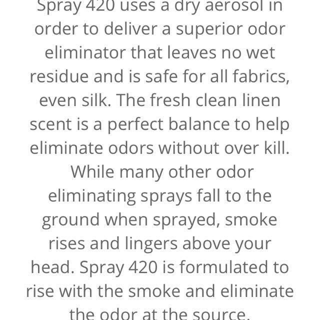 420 Odor Eliminator (World Strongest Odor eliminator)