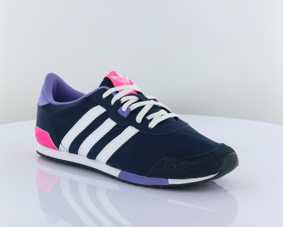 Women Adidas Originals Zx 700 Shoes Purple Blue Comfortable