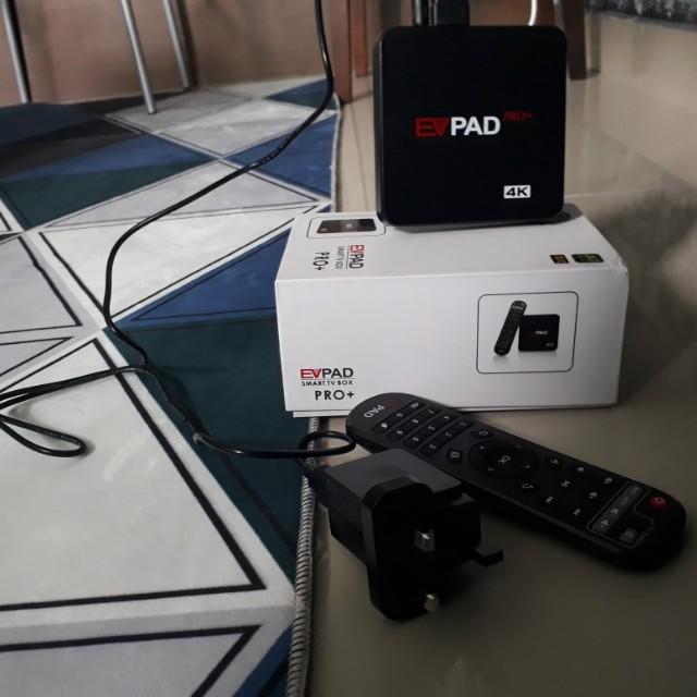 4K Smart TV Android Box EV Pad Pro Plus