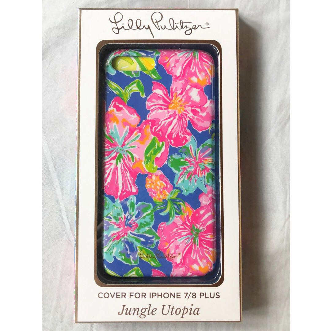 sale retailer 14c47 c7f93 #AS15 SALE - LILLY PULITZER IPHONE 7/8 PLUS PHONE CASE COLOR : JUNGLE  UTOPIA (FREE SHIPPING)