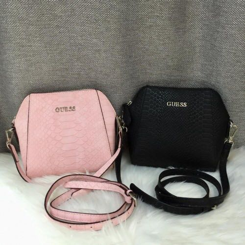 AUTHENTIC GUESS SNAKE EMBOSSED PATERN CROSSBODY BAG d8fcf636ec9fd