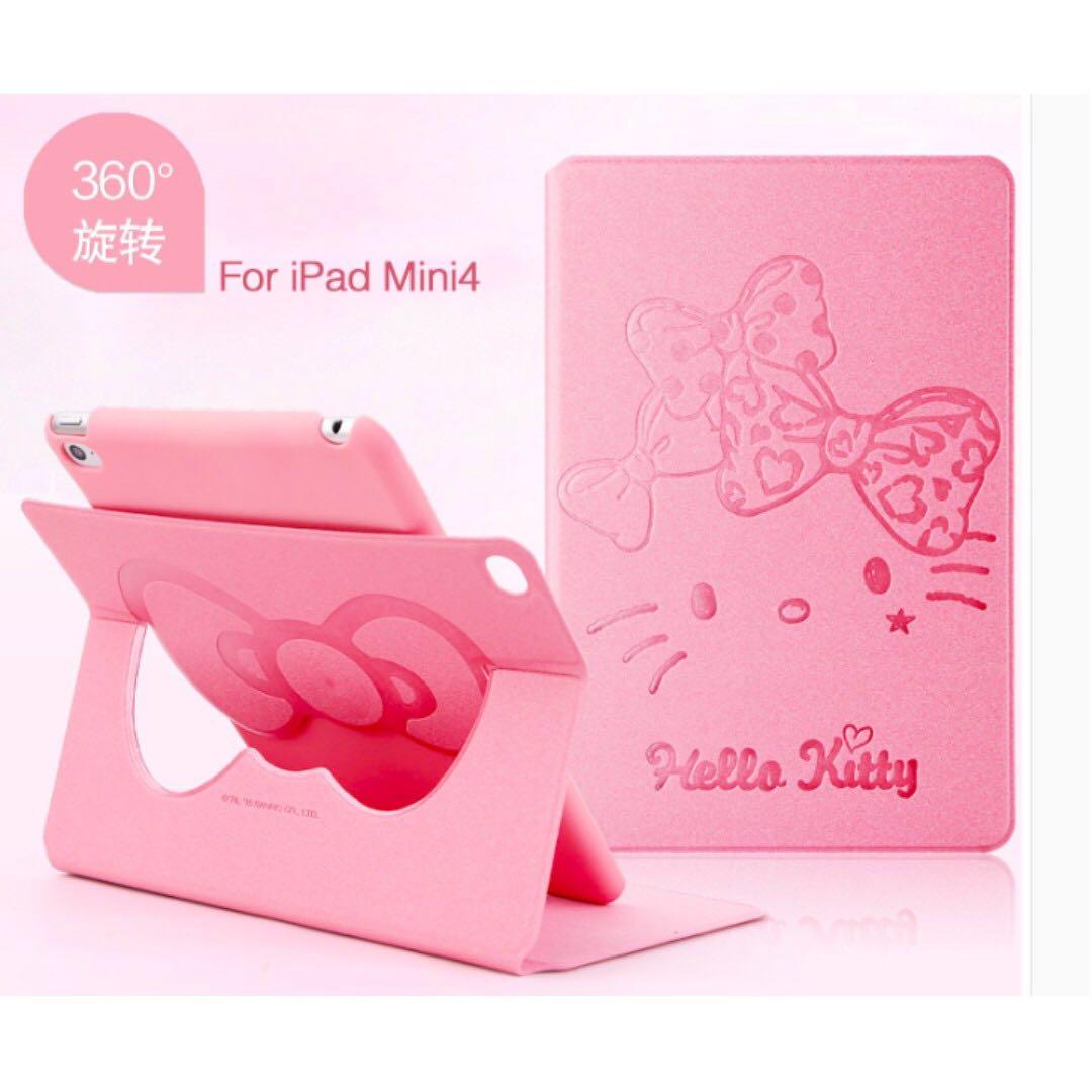 e6ddda3dc Authentic Hello Kitty Ipad Mini 4 Spin Cover Case, Mobile Phones ...