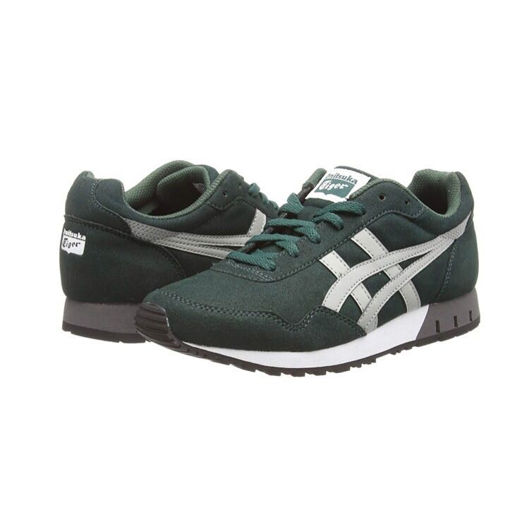 040904329cc Authentic Onitsuka Tiger Dark Green Curreo Multisport Outdoor Shoes ...