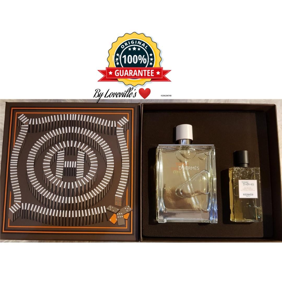 Authentic Terre Dhermes Eau Tres Fraiche 125ml Gift Set Produk Hermes D For Men Edt Badan Dan Kecantikan Lain Di Carousell
