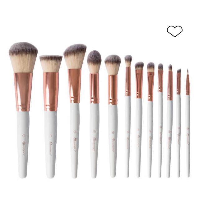 Rose Romance 12 Piece Brush Set by BH Cosmetics #13