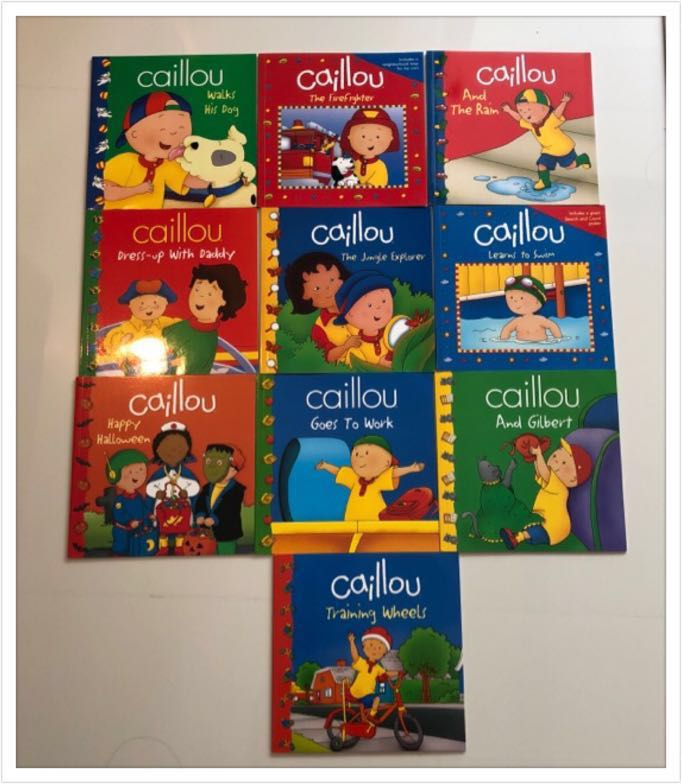 Caillou Picture books (10 books set ) , Books & Stationery