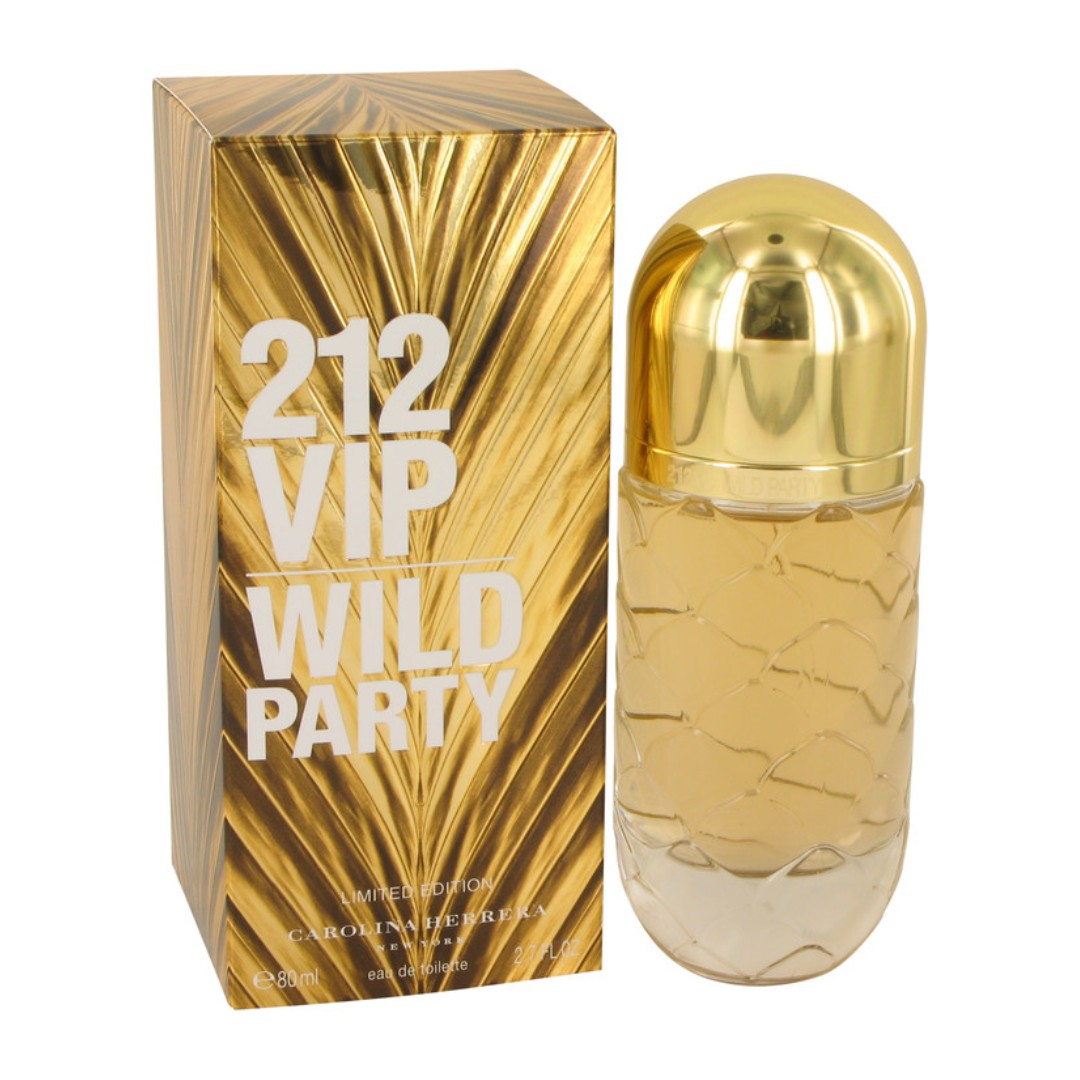 4730bbb37e Carolina Herrera 212 VIP Wild Party 80ml edt Spray for Women, Health &  Beauty, Perfumes, Nail Care, & Others on Carousell