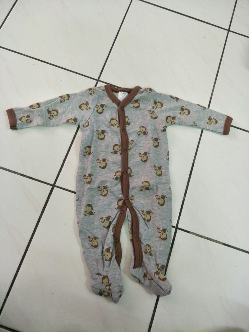 Carter's Blue Fly romper