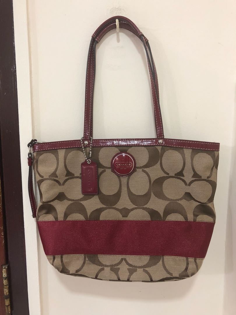 Coach Tote Bag Medium (Authentic) de4e5cfbfb779