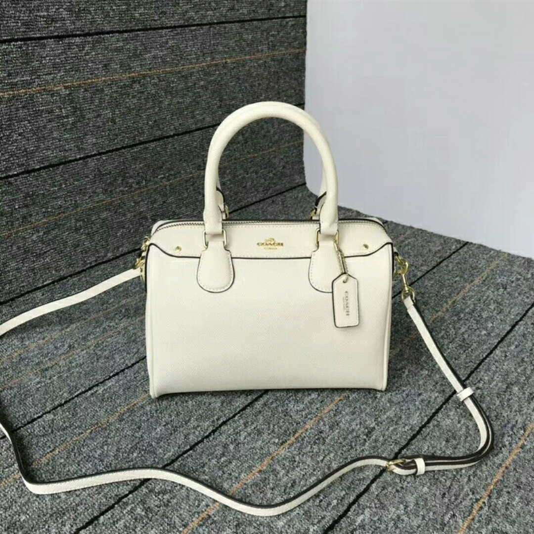 16f6fae75567 ... buy coach white boston tote bag womens fashion bags wallets handbags on  carousell 03e88 4d85f