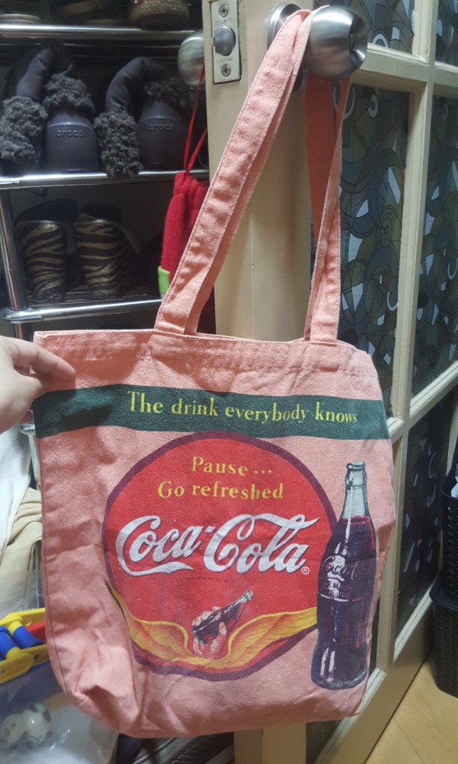 4e6196e048dd Coca cola Coke eco tote canvas bag