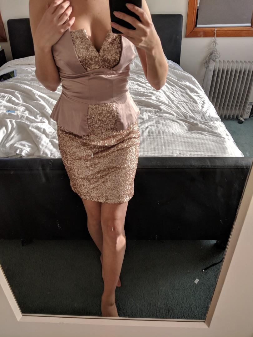 Formal sequence dress