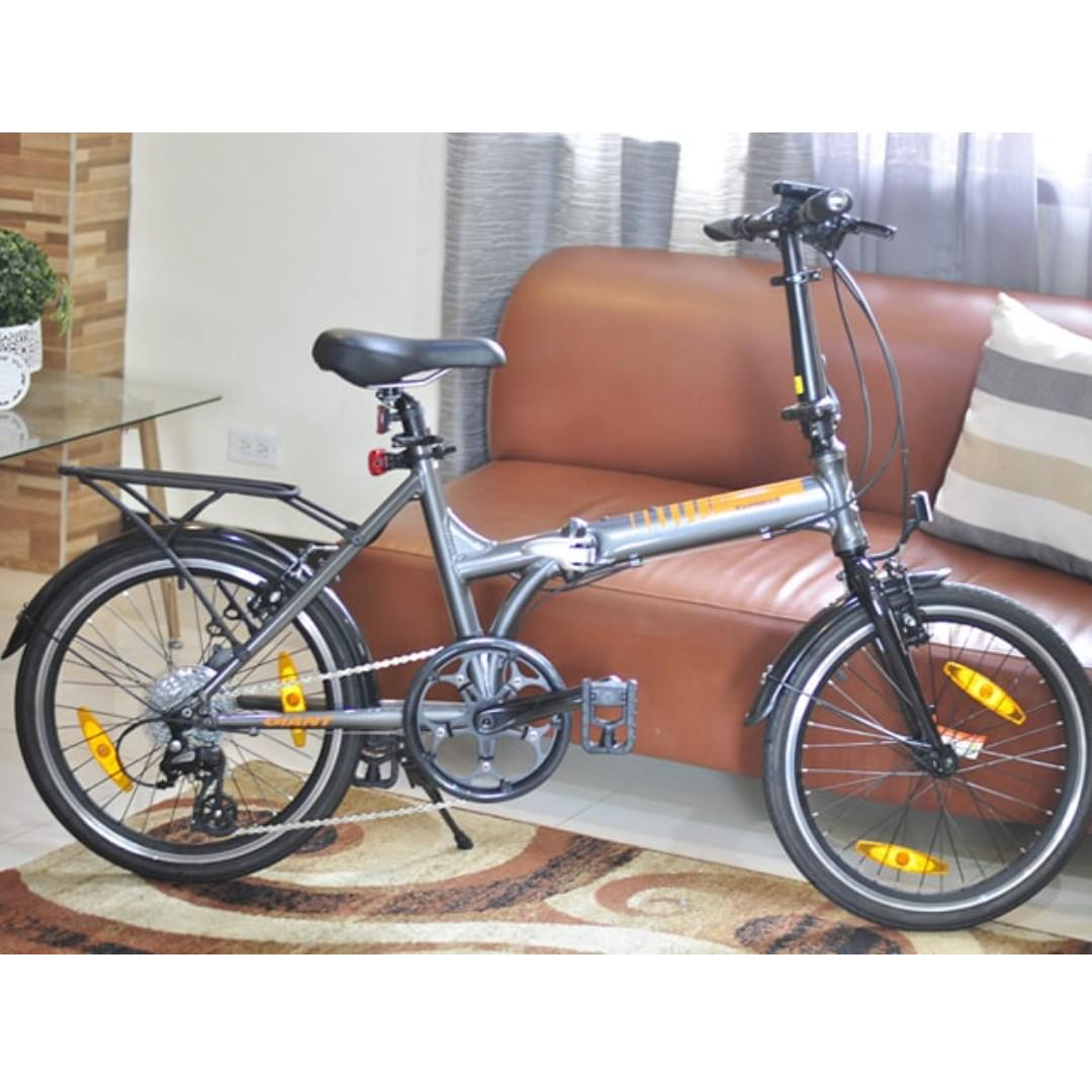 4de53e8d93a GIANT EXPRESSWAY 1 2017 Nearly New (Folding Bike) on Carousell