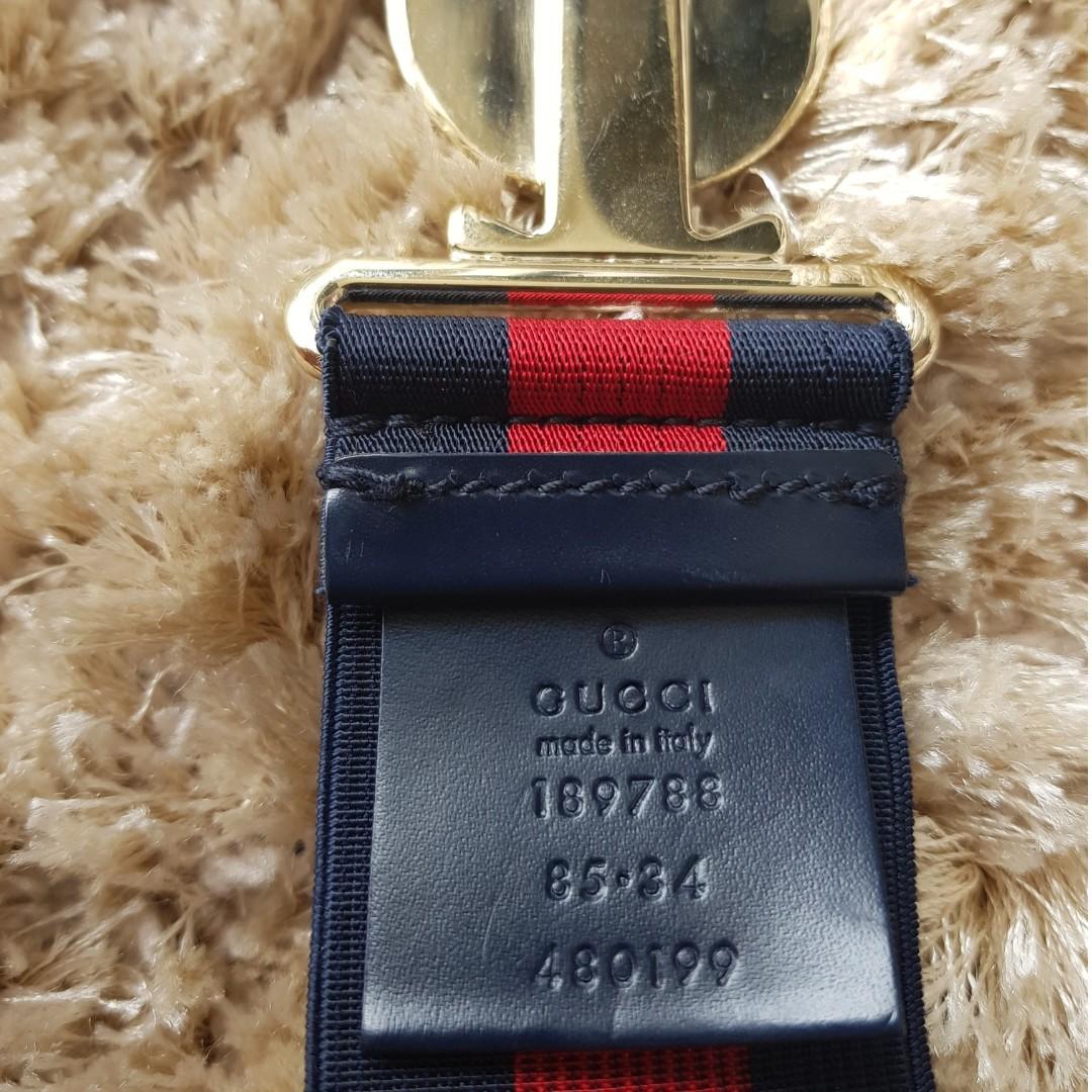 a71fd7185d7 Gucci belt -100% Authentic