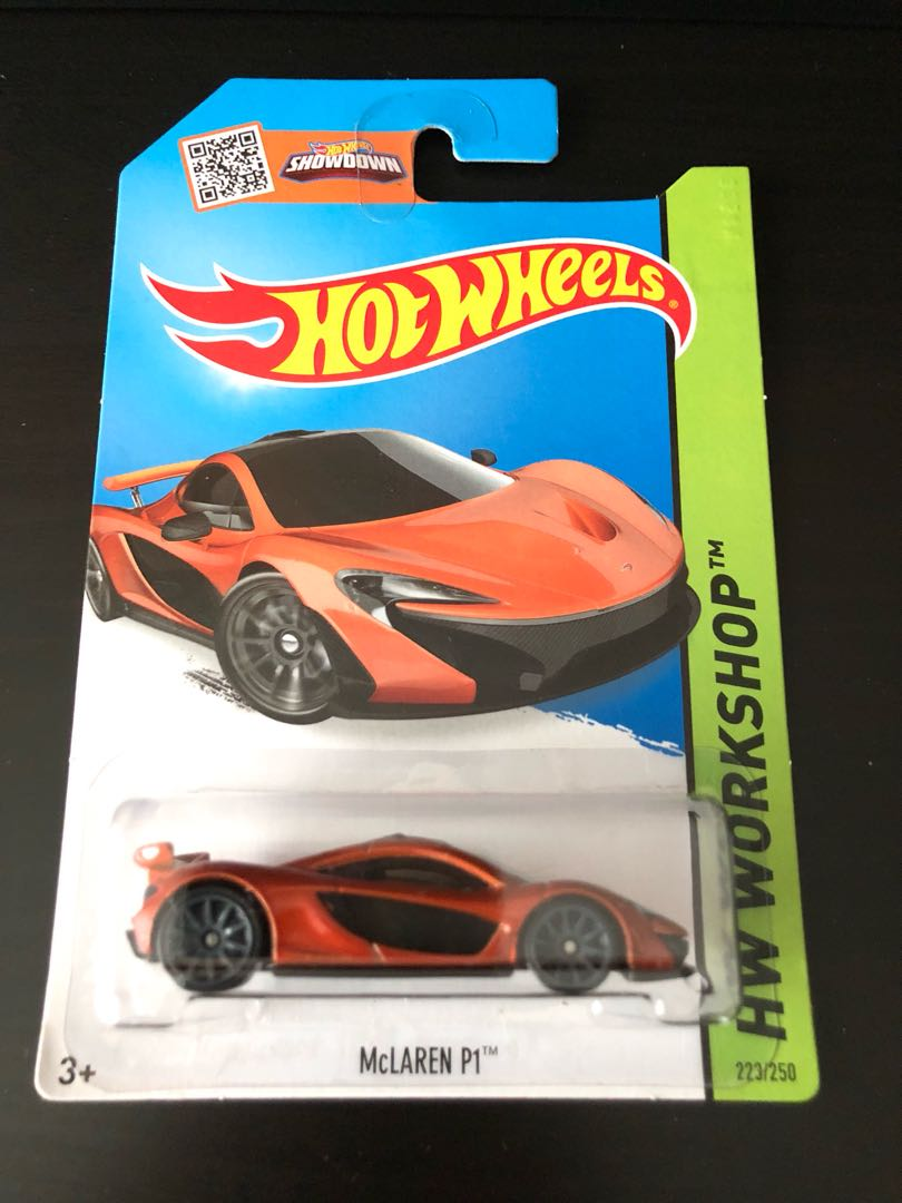 Hotwheels Mclaren P1 Toys Games Others On Carousell Hw Mc Laren