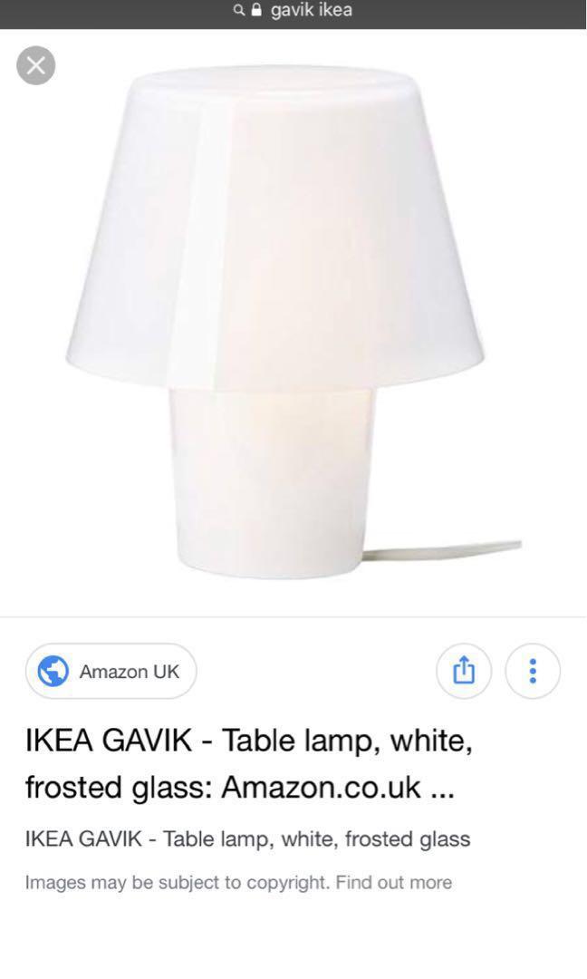 Newfurniturehome Lamp Fy7bg6y Decorlighting Gavik Ikea Table Brand POkuiXTZ