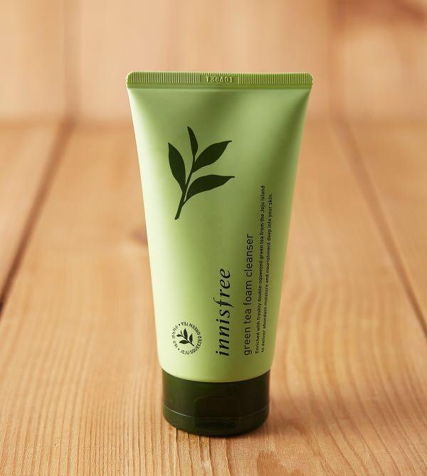 42497d889df Innisfree Green Tea Foam Cleanser